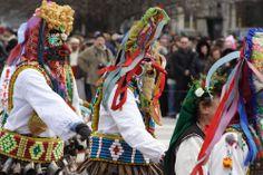 Taniec Kukerów- Bułgaria