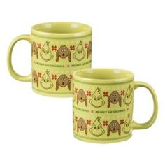 """Dr Seuss- The Grinch"" Ugly Sweaters Ceramic Mug"