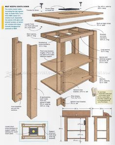 Router Table Plans - Router