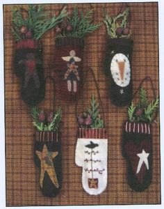 $8.95 Christmas Stockings patterns