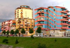 More Tirana.  Love these buildings.
