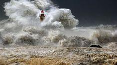 Rage by Veselin Malinov - Sturm Bilder Olivia De Havilland, Amélioration Continue, Lighthouse Storm, Storm Wallpaper, Powerful Images, Rage, Really Cool Stuff, Art Photography, Clouds
