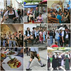 "The winner of our thematic photo collage contest is ""Bavarian and proud of it""."