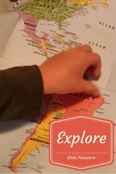 Let your children explore the world with Little Passports   #affiliate
