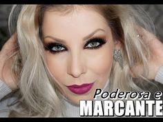 Maquiagem marcante para festa - YouTube