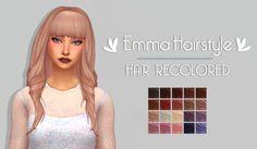 - Emma Hairstyle sim-tastic RECOLOR | by @mystufforigin The original...