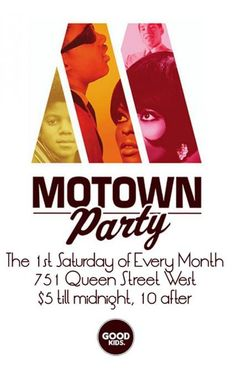 Fusicology Events - Motown Party