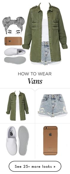 """""""✨"""" by justice-ellis on Polyvore featuring River Island, Zara and Vans"""