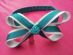 Layered boutique bow alice band <3