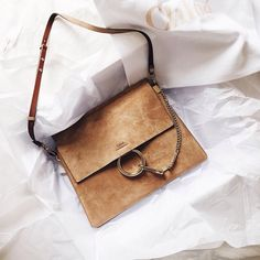 Chloé Faye Suede #style #fashion #accesories