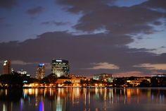 Downtown Orlando, Orlando Florida, Seattle Skyline, Cool Pictures, Photos, Travel, Voyage, Trips, Photographs