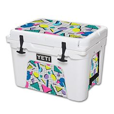 MightySkins Protective Vinyl Skin Decal for YETI Tundra 35 qt Cooler wrap cover sticker skins Awesome 80s *** Click image to review more details.(This is an Amazon affiliate link and I receive a commission for the sales)