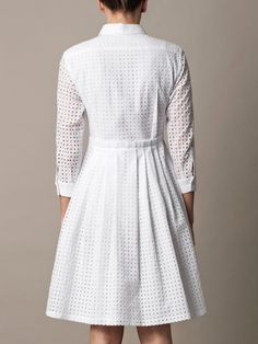 Freda Broderie anglaise dress for women