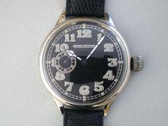 Jaeger Lecoultre ジャガールクルト アンティークミリタリー手巻腕時計 英国軍 Watch Antique ¥96000yen 〆05月26日