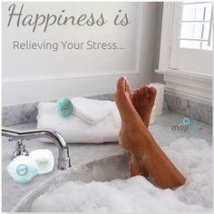 MojiLife Bathbomb Exhilarate...Relieve your stress.