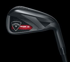"""Love the PVD finish on the new Callaway Razr X Black irons. It's appropriately nicknamed """"The Maverick"""""""