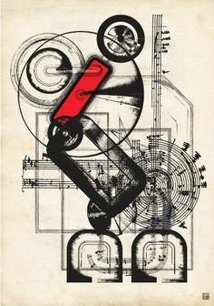 "Saatchi Art Artist JACEK TOFIL; New Media, ""chopininventor"" #art"