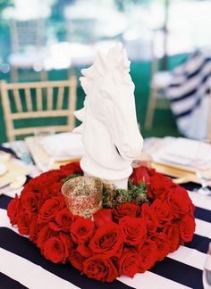 Derby Dinner Inspiration by Michelle Boyd - Southern Weddings