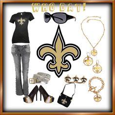 Outfit -- New Orleans Saints