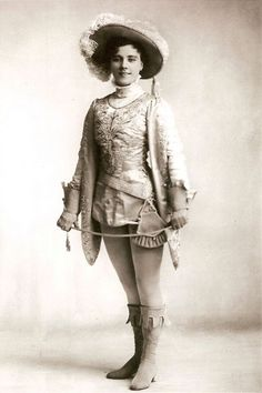 Hetty King as Prince Charming    Cinderella    Date Unknown
