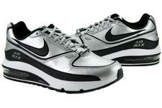 d61496a716e543 Nike Air Max Renegade Metallic Silver  Black