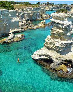Lecce, Puglia, Itália. Imagine yourself swimming there