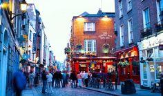 #Irlanda Temple Bar é a principal região cultural e boêmia da cidade de Dublin