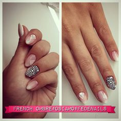 FrenchOmbre#French#2015nails#nails#nice#Fedenails