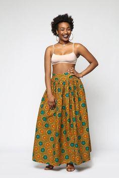 Custom Regal Maxi Skirt