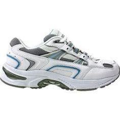 Vionic Womens Walker Classic Shoes 11 CD US WhiteBlue -- Learn more by visiting the image link.