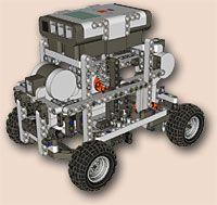 LEGO NXT hacks and robots