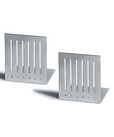 Look at this #zulilyfind! Gray Large Rectangle Bookends #zulilyfinds