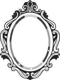 baroque frames clipart clip art vintage frames borders clipart clip rh pinterest com mirror clipart black and white mirror clipart free