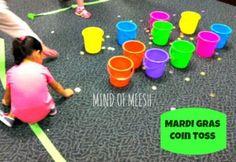 Mums make lists ...: Mardi Gras Activities for Kids - Mardi Gras coin toss