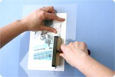 inkjet transfer using copier transparency film from photojojo