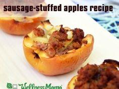 Sausage Stuffed Apples Recipe 365x274 Sausage Stuffed Apples