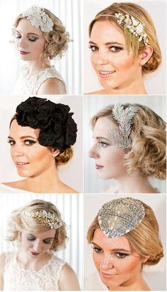hair pieces #wedding