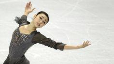 Kim Yuna of Korea new World Champion 2013 March 16, 2013.