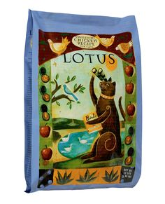 As much as we love making stuff purrrdy, one of the reasons we remodeled was that we can carry more of the foods we think our customers should try.  And today we're pleased to announce the arrival of Lotus Pet Food at Joey's. It's actually oven baked! The process still exists!