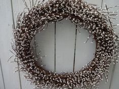 Pip Berry Wreath Farmhouse Wreath Winter White Wreath Primitive Wreath Large Wreath Front Door Wreath White Wreath For Door – Grapevine Wreath İdeas. Purple Wreath, White Wreath, Green Wreath, Berry Wreath, Primitive Wreath, Primitive Decor, Indoor Wreath, Poinsettia Wreath, Holiday Wreaths