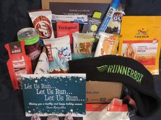 Holiday Box 2015  Gift for Runners or any athlete! www.therunnerbox.com Gifts For Runners, Athlete, Box, Holiday, Vacation, Holidays, Boxes