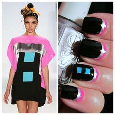 Creative Nail Design by Sue: Digital Dozen Does it Again-Another Mondo Guerra Inspiration #prom