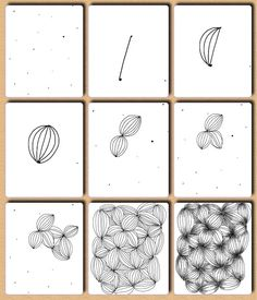 Zentangle Patterns for Beginners | Garlic - Fru Billedkunst - glimt fra min…