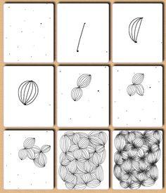 Zentangle Patterns for Beginners   Garlic - Fru Billedkunst - glimt fra min billedkunstundervisning: Op ...