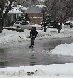 Toronto com muito gelo