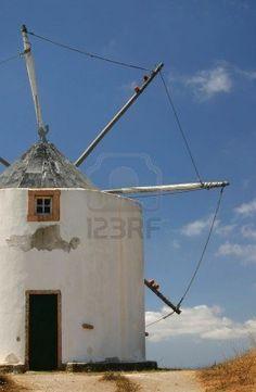 Molino de viento detalle Portugal