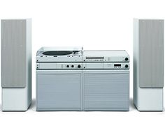 Dieter Rams, HiFi Braun Atelier, 1979-91. Part of the MoMA collection.