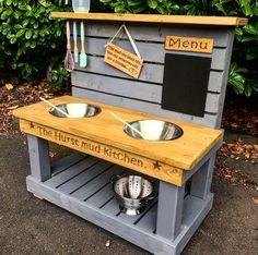 21 ideas diy kids playground ideas mud kitchen for 2020 10 Outdoor Play Kitchen, Diy Mud Kitchen, Mud Kitchen For Kids, Kids Outdoor Play, Outdoor Play Areas, Backyard For Kids, Diy For Kids, Childs Kitchen, Backyard Kitchen
