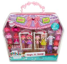 Amazon.com: Lalaloopsy Minis Style 'N' Swap Multipack Doll- Princess: Toys & Games