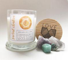 Sacral Chakra Candle-Meditation Candle-Yoga Candle-Healing-Fertility Candle-Cleansing